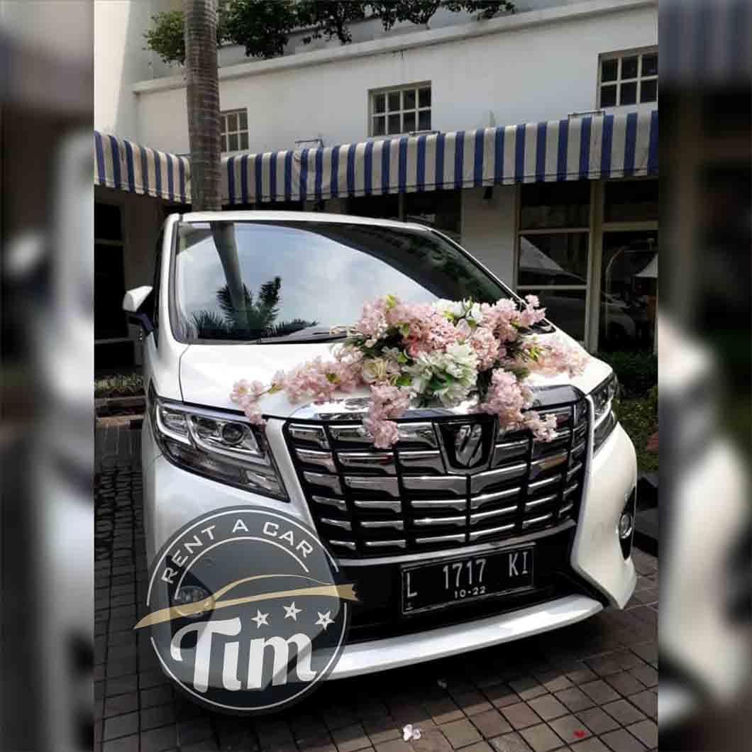 sewa mobil wedding surabaya