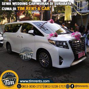 Rental mobil pengantin murah surabaya