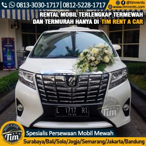 sewa wedding car semarang