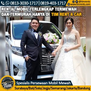 sewa wedding car murah surabaya